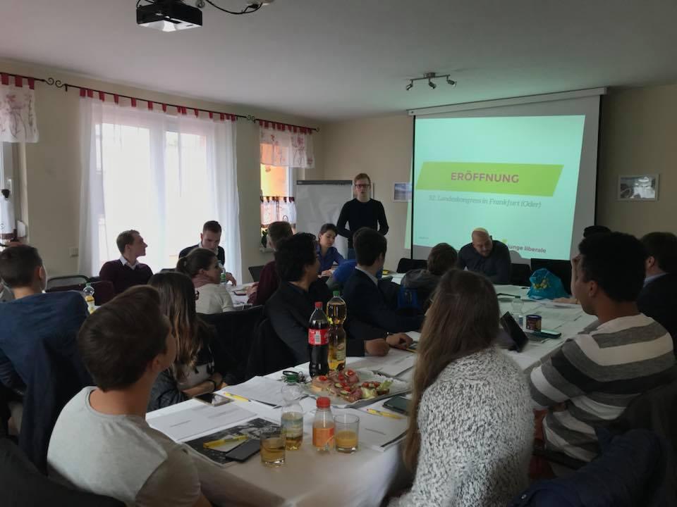 Junge Liberale debattieren über Brandenburgs Zukunft