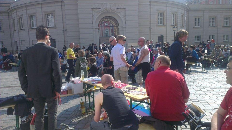 Junge Liberale Potsdam beim CSD 2014