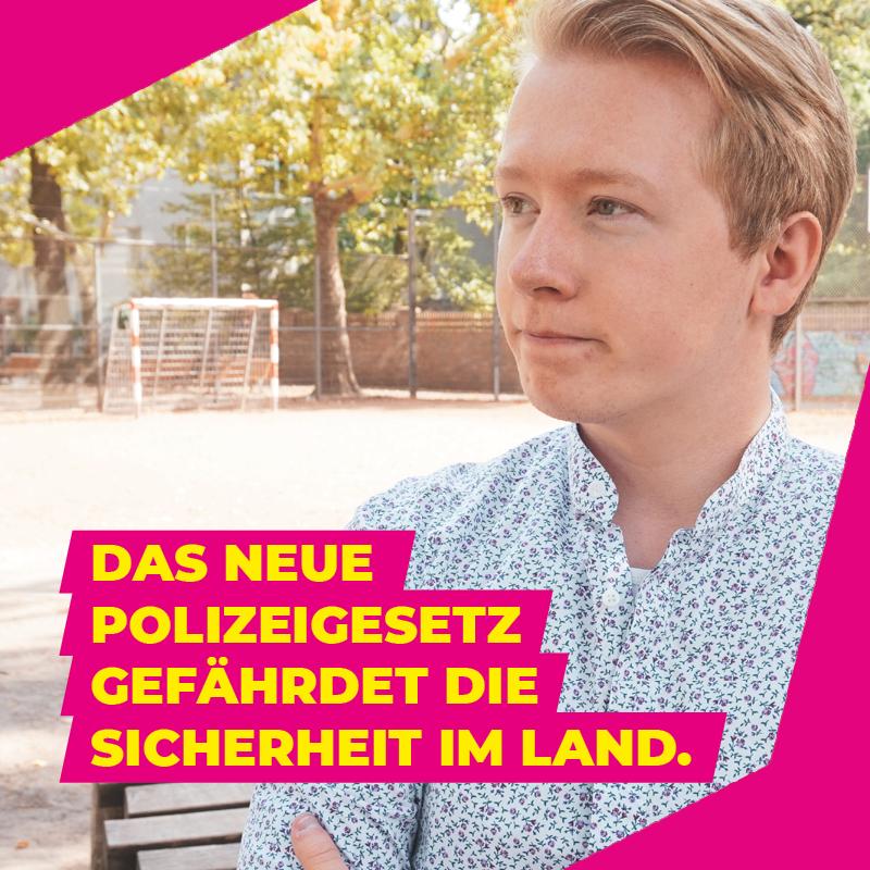 FDP-Jugend unterstützt Bündnis gegen neues Polizeigesetz