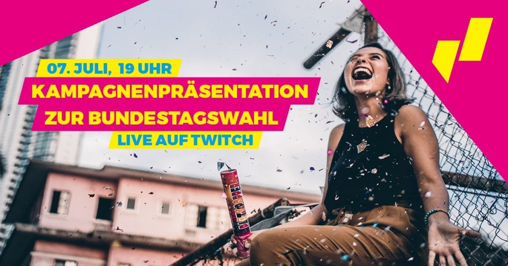 Kampagnenpräsentation zur Bundestagswahl 2021